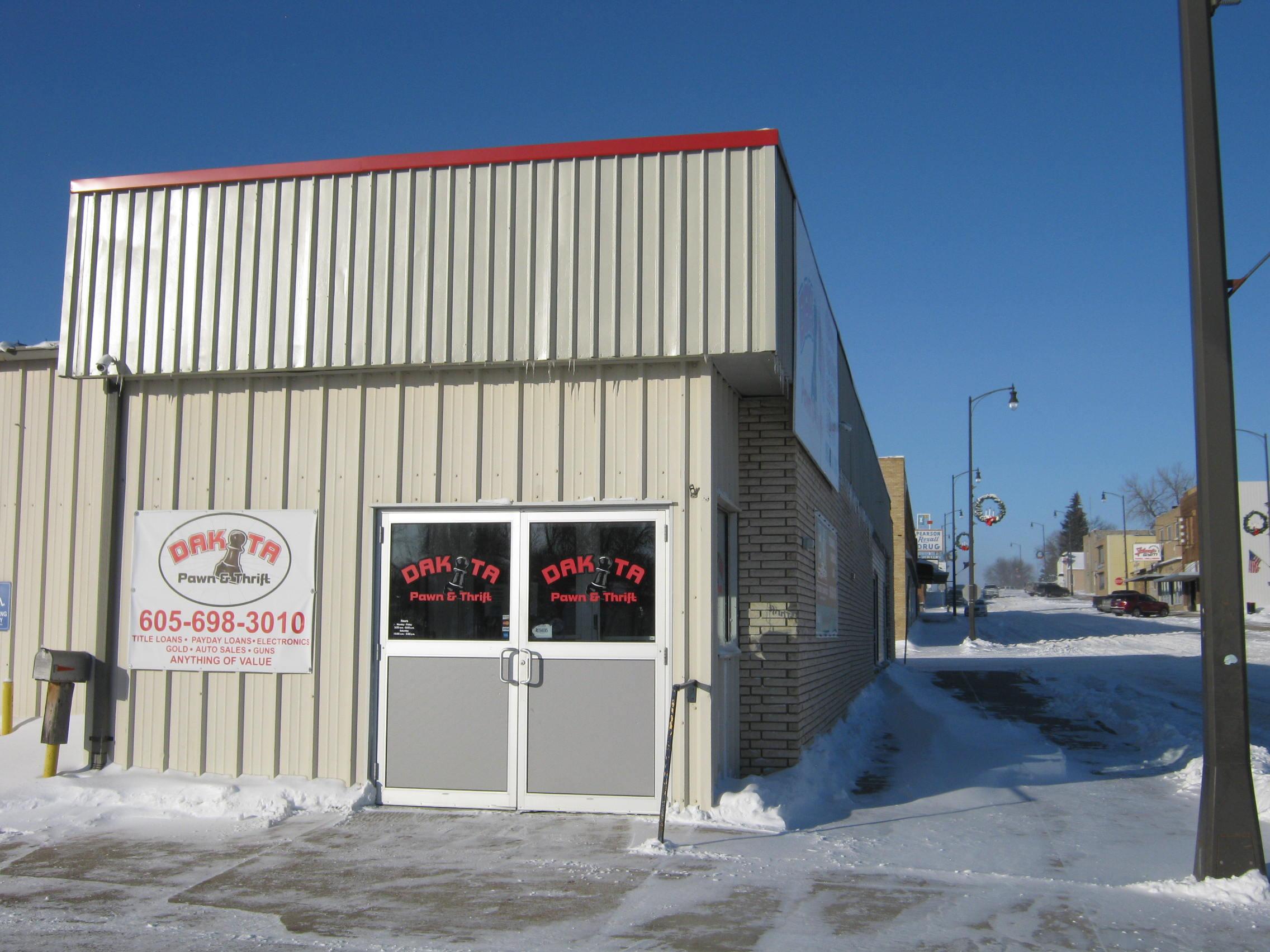 Dakota Pawn & Thrift, 320 Veterans Avenue, Sisseton , South Dakota, 57262, United States